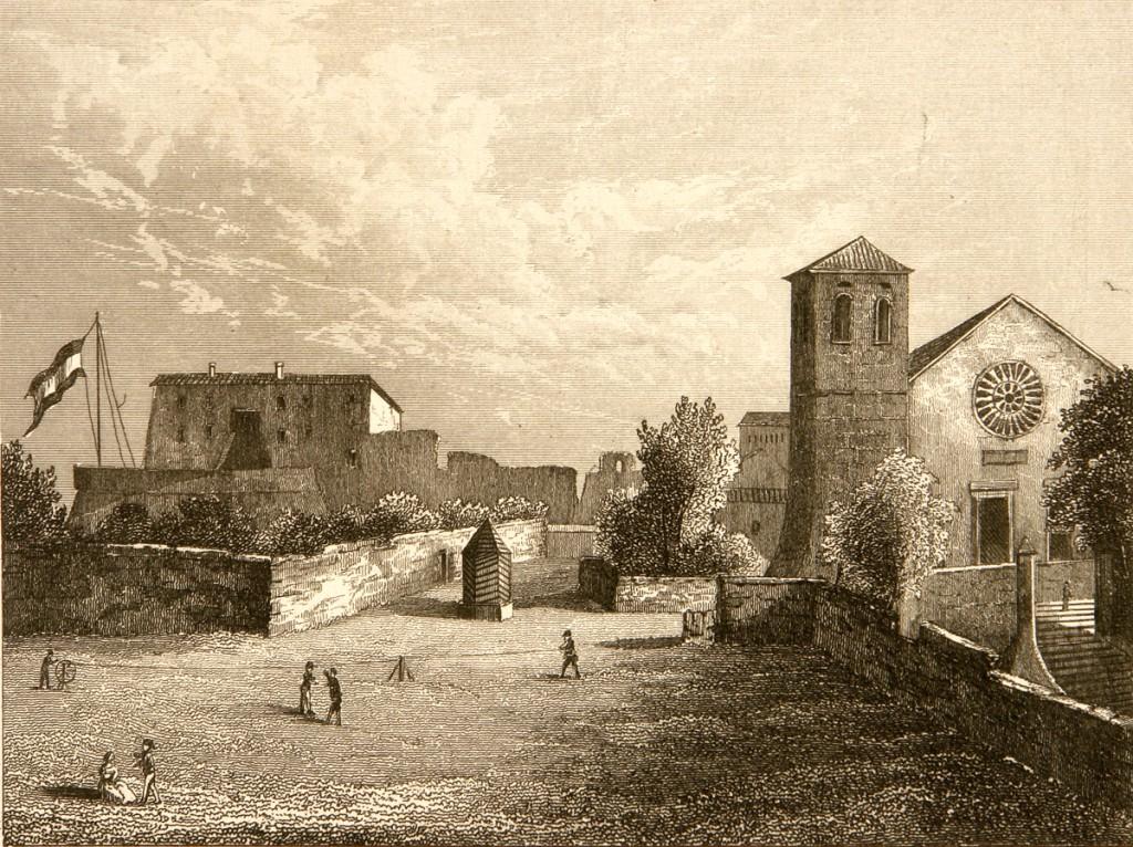 Castello e Cattedrale nell'Ottocento