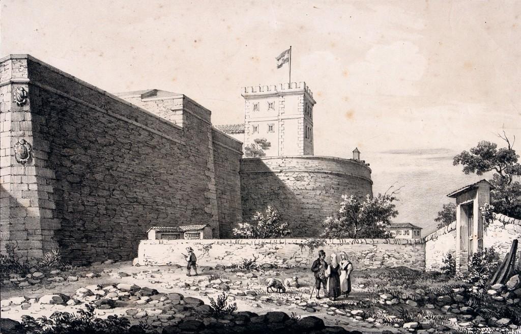Il Castello nell'Ottocento